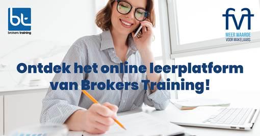 Brokers Training online opleidingsplatform